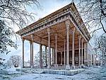 بازسازی کاخ آینه خانه اصفهان توسط هنر دیجیتال