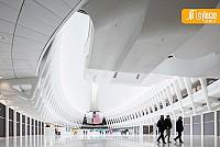 طراحی بی نظیر مرکز تجارت Oculus، توسط سانتیاگو کالاتراوا