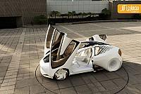 کانسپت آینده نگر تویوتا روباتیک (Robo-car)