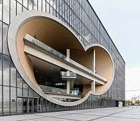 معماری ساختمان تئاتر در شانگهای، توسط تادائو آندو