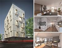 آپارتمان مسکونی شماره 21 با نمایی پویا