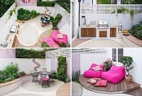 ایده طراحی حیاط خلوت دنج و دلنشین