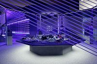 طراحی داخلی فروشگاه آدیداس