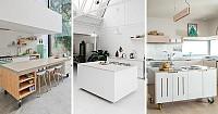 8 ایده طراحی آشپزخانه با کانتر های قابل حمل