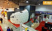 طراحی سازه پارامتریک در نمایشگاه بین المللی صنعت ساختمان مازندران
