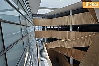 معماری و طراحی داخلی کتابخانه مرکزی در چین