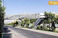 معماری پل عابر پیاده لواسان