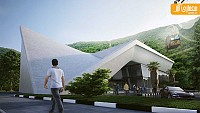 معماری و طراحی داخلی ساختمان تله کابین رامسر