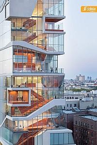 طراحی و معماری برج آموزشی پزشکی در نیویورک