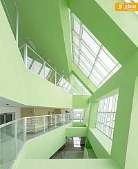 نگاهی به معماری و طراحی داخلی بیمارستان پارس در گیلان