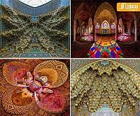 یک شنبه های عکاسی: 20 نمونه سقف مساجد، از شگفتی های معماری اسلامی
