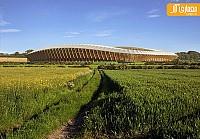 طراحی استادیوم پایدار توسط گروه معماری زاهاحدید