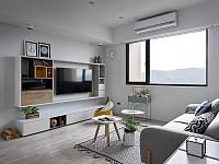 معماری داخلی آپارتمانی با سبک اسکاندیناوی شیک و راحت !