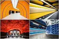 یک شنبه های عکاسی: ایستگاه های مترو اروپا