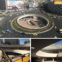 شنبه های نگاه آرل به تهران:  میدان ولیعصر  (پلازای ولیعصر)