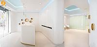 طراحی و دکوراسیون داخلی دندان پزشکی فرشتگان
