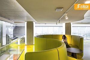 معماری داخلی و  بازسازی کتابخانه ملی سوئد