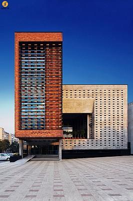 معماری ساختمان نظام مهندسی قزوین