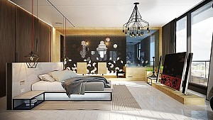 طراحی و دکوراسیون داخلی اتاق خواب: بررسی 8 ایده