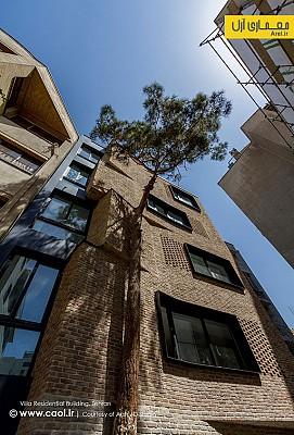 ساختمان مسکونی ویلا، رتبه اول جایزه معمار 94