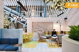 طراحی داخلی خلاقانه هتل  ovolo wooloomooloo