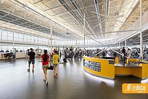 طراحی مرکز سلامت و ورزشی در دانشگاه