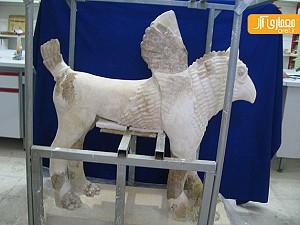 گزارش اختصاصی آرل از بازسازی و مرمت مجسمه گریفین چغازنبیل