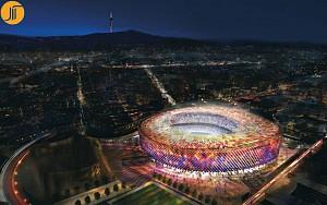 بازسازی استادیوم ورزشی نیو کمپ (Camp Nou) بارسلون توسط نورمن فاستر