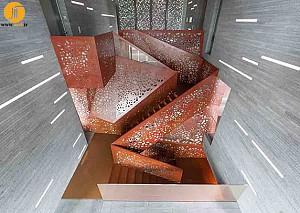 طراحی داخلی پلکان ویلا مایورکا