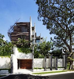 معماری ویلای آشیانه توسط معماران WOHA