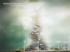 ساختمان هایی که با کربن رشد می کنند