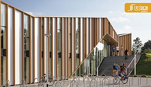معماری فرهنگسرای Het Anker در هلند