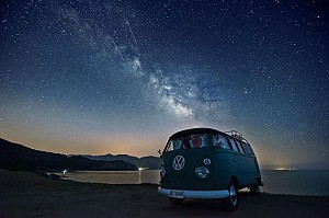 زیبایی شبهای ستاره باران در قالب آلبومی تماشایی