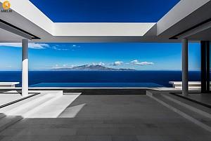 طراحی و معماری ویلایی با چشم انداز فوق العاده