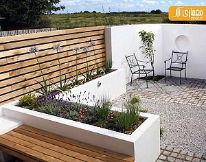 طراحی و ایده های برای حیاط های کوچک
