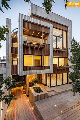 آپارتمان مهرآباد در اصفهان با طراحی شبیه به خانه های تک واحدی