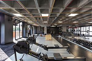 طراحی داخلی سالن بدنسازی