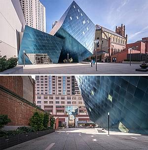 معماری موزه معاصر یهودیان سانفرانسیسکو، طرح دنیل لیبسکیند