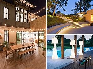 ایده های چشمگیر روشنایی در فضای باز و حیاط