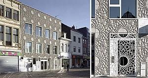 طراحی نمای ساختمان با استفاده از پانل های دکوراتیو بتنی