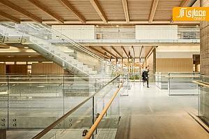 معماری و طراحی داخلی مدرسه دخترانه