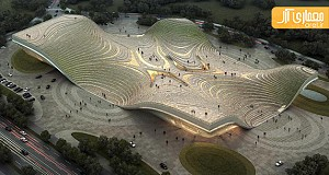 طراحی مرکز نمایشگاهی پکن