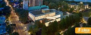 معماری و طراحی داخلی موزه ملی هنرهای زیبا در کانادا