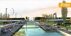 طراحی شهری حاشیه رودخانه روزاریو در  آرژانتین