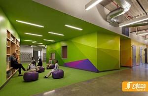 معماری و طراحی داخلی مدرسه در شیکاگو