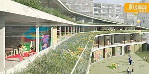 طراحی سالن ورزشی و مدرسه ابتدایی توسط گروه Chartier-Dalix