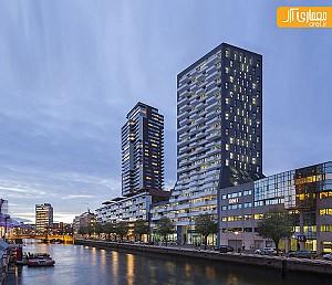 نگاهی به یک مجتمع مسکونی لوکس در روتردام