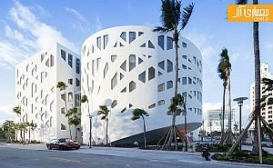 طراحی مجموعه فرهنگی توسط گروه معماری OMA، با الهام از موزه گوگنهایم