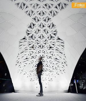 بزرگ ترین سازه چاپ سه بعدی در جهان