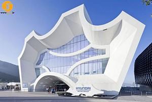 طراحی غرفه نمایشگاهی هیوندا